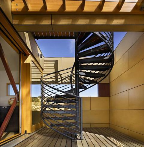 Sitges ventanas aluminio barandilla inox vallas - Vallas para escaleras ...